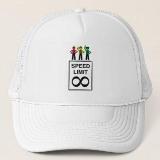 Moody Stoplight Trio Infinite Speed Limit Trucker Hat
