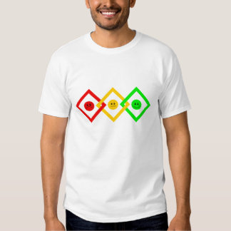 Moody Stoplight Trio Interlinked T-shirt