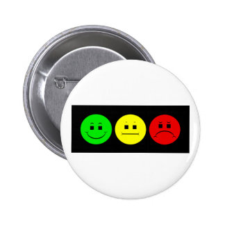 Moody Stoplight Trio Lefty Green 2 Inch Round Button