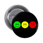 Moody Stoplight Trio Lefty Green Buttons