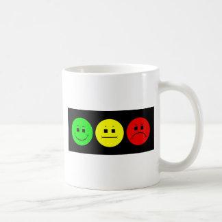 Moody Stoplight Trio Lefty Green Classic White Coffee Mug