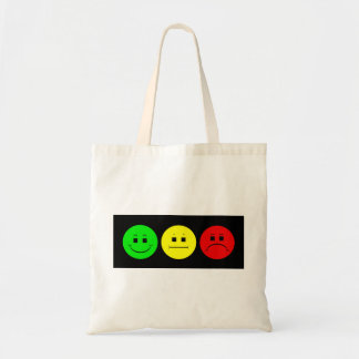 Moody Stoplight Trio Lefty Green Tote Bag