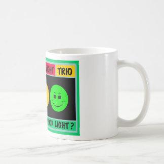 Moody Stoplight Trio Logo Classic White Coffee Mug