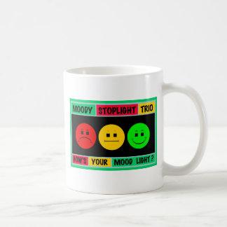 Moody Stoplight Trio Logo Coffee Mug