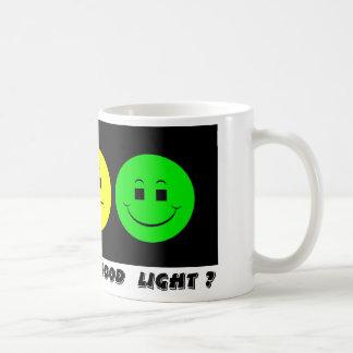 Moody Stoplight Trio Mood Light Classic White Coffee Mug