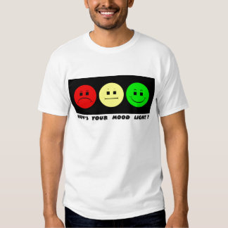 Moody Stoplight Trio Mood Light T-shirt