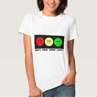 Moody Stoplight Trio Mood Light T Shirt