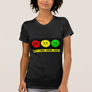 Moody Stoplight Trio Mood Light Tee Shirt