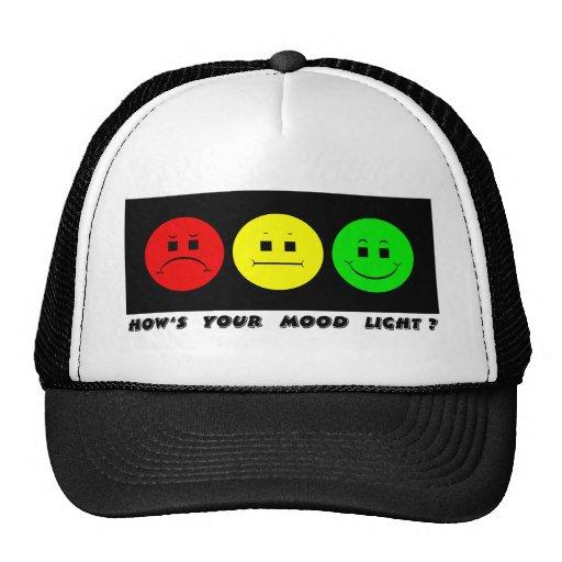 Moody Stoplight Trio Mood Light Trucker Hat