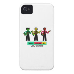 Case-Mate iPhone 4 Barely There Universal Case with Mustache Phone Cases design
