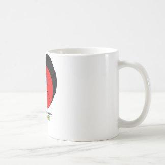 Moody Stoplight Trio Ron Buckstopper Face w Label Classic White Coffee Mug