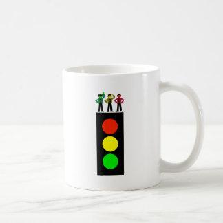 Moody Stoplight Trio Stoplight Coffee Mug