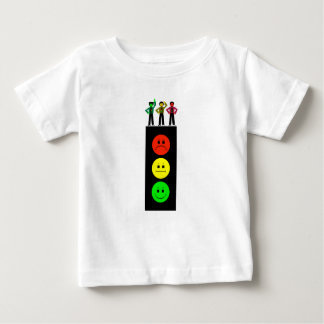 Moody Stoplight With Moody Stoplight Trio Baby T-Shirt