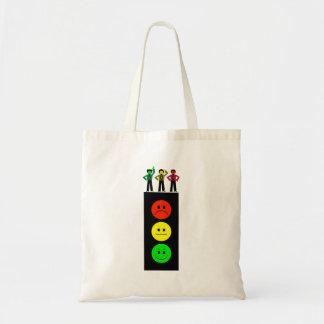 Moody Stoplight With Moody Stoplight Trio Tote Bag