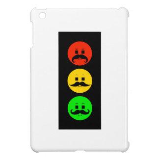 Moody Stoplight with Mustachios iPad Mini Case