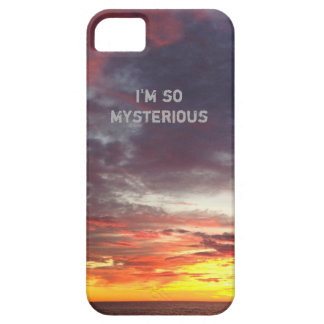 Moody Sunset Sky Drama Queen iPhone 5 Cases