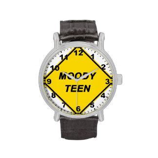 """Moody Teen"" design wrist watch"