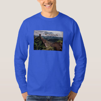 Moody View of The Great Wall of China T-Shirt