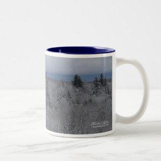 Moody Winter Blues Mugs