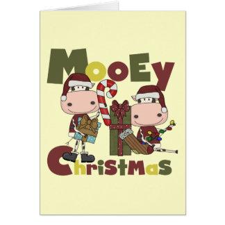 Mooey Christmas Card