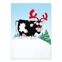 Mooey Christmas Cow Card