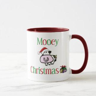 Mooey Christmas Cow Mug