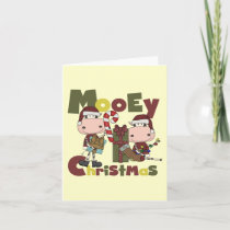 Mooey Christmas Holiday Card