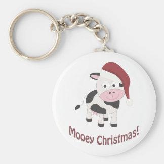 Mooey Christmas! Keychain