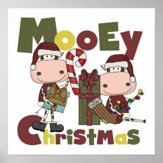 Mooey Christmas Print