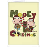 Mooey Christmas Stationery Note Card