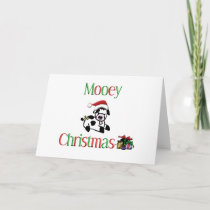 Mooey Cow Christmas Holiday Card