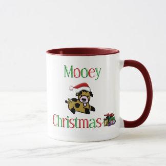 Mooey Cow Christmas Mug