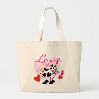Mooey Love Valentine Canvas Bags