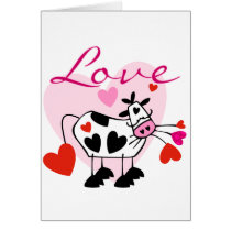 Mooey Love Valentine Card