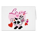 Mooey Love Valentine Greeting Cards