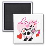 Mooey Love Valentine Refrigerator Magnet