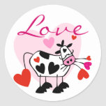 Mooey Love Valentine Sticker