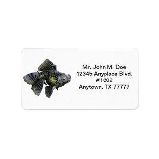 Moog el negro amarra la etiqueta de dirección