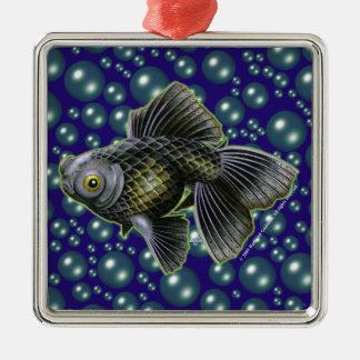 Moog the Black Moor Premium Square Ornament