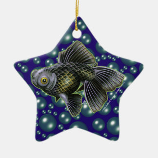 Moog the Black Moor Star Ornament
