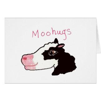 Moohugs Tarjeta De Felicitación