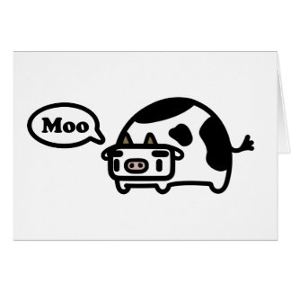Mooing Cow Card