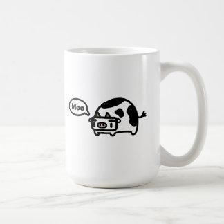 Mooing Cow Classic White Coffee Mug