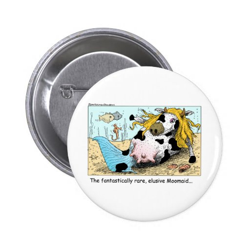 Moomaid Funny Cow Cartoon Gifts Tees Collectibles Pins