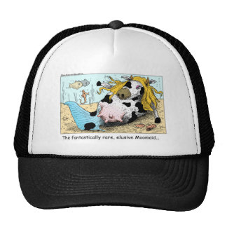 Moomaid Funny Cow Cartoon Gifts Tees Collectibles Hat