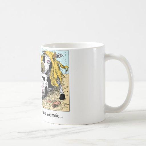 Moomaid Funny Cow Cartoon Gifts Tees Collectibles Mug