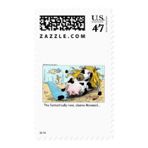 Moomaid Funny Cow Cartoon Gifts Tees Collectibles Postage