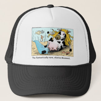 Moomaid Funny Cow Cartoon Gifts Tees Collectibles Trucker Hat