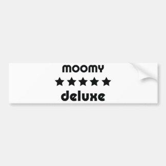 moomy deluxe icon bumper sticker