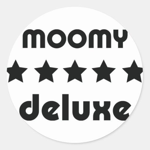moomy deluxe icon sticker